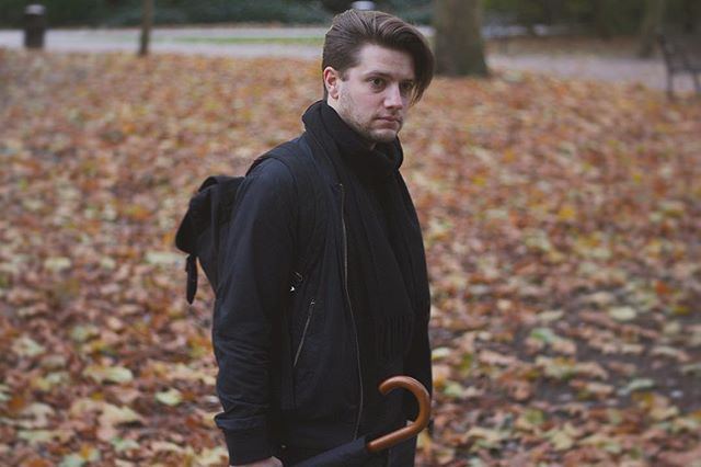 Brown & Black . . . . . . . . #mensfashion #menswear #mensstyle #groom #fashion #style #streetstyle #streetstylefashion #clothing #blogger #fashionblogger #outfit #stylebloggers #ootd #ootdfashion #autumnleaves #wappingwoods #treefall #winterscoming #allblackerrthang #brollyjustincase #gentslook #streetwise #natureboy