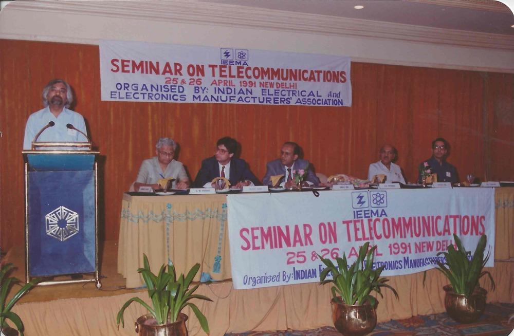 Seminar on Telecom, 1991