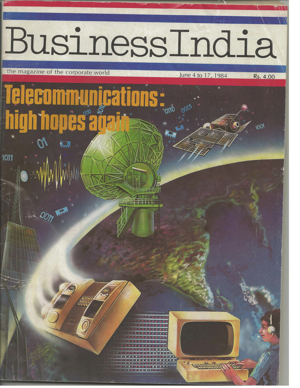 """Telecommunications: High hopes again,"" Business India, 1984"