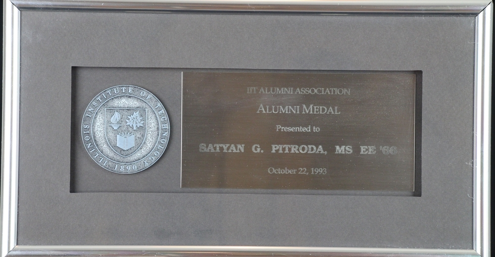 Alumni Medal, IIT Alumni Association, 1993