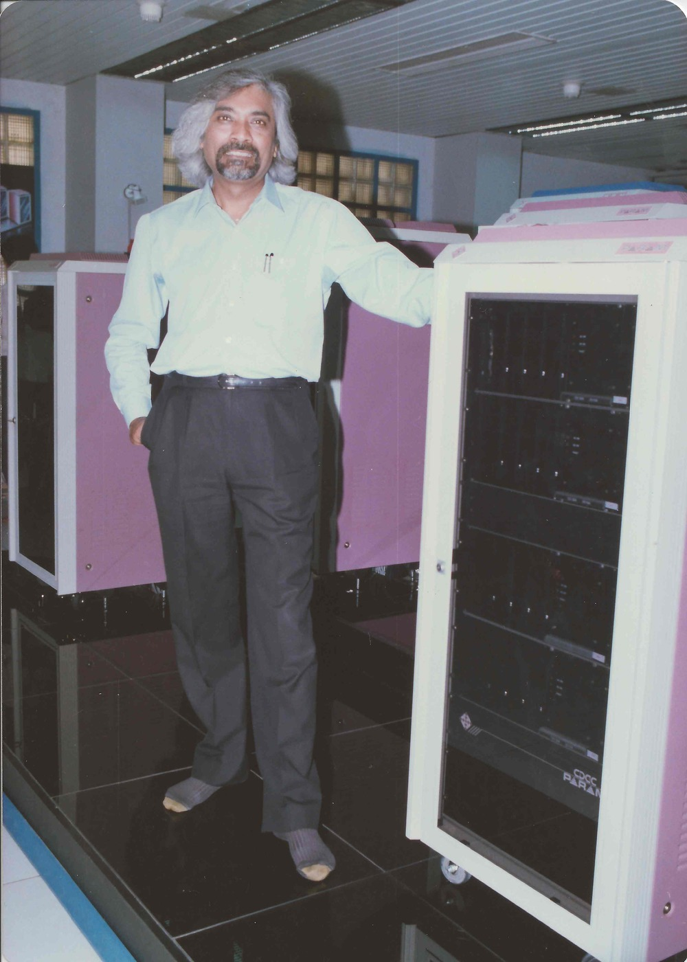 India's first super computer, PARAM
