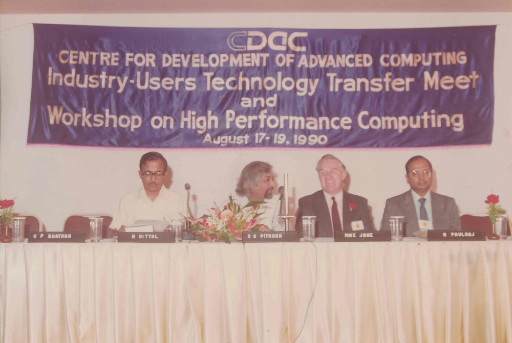 C-DAC, 1990