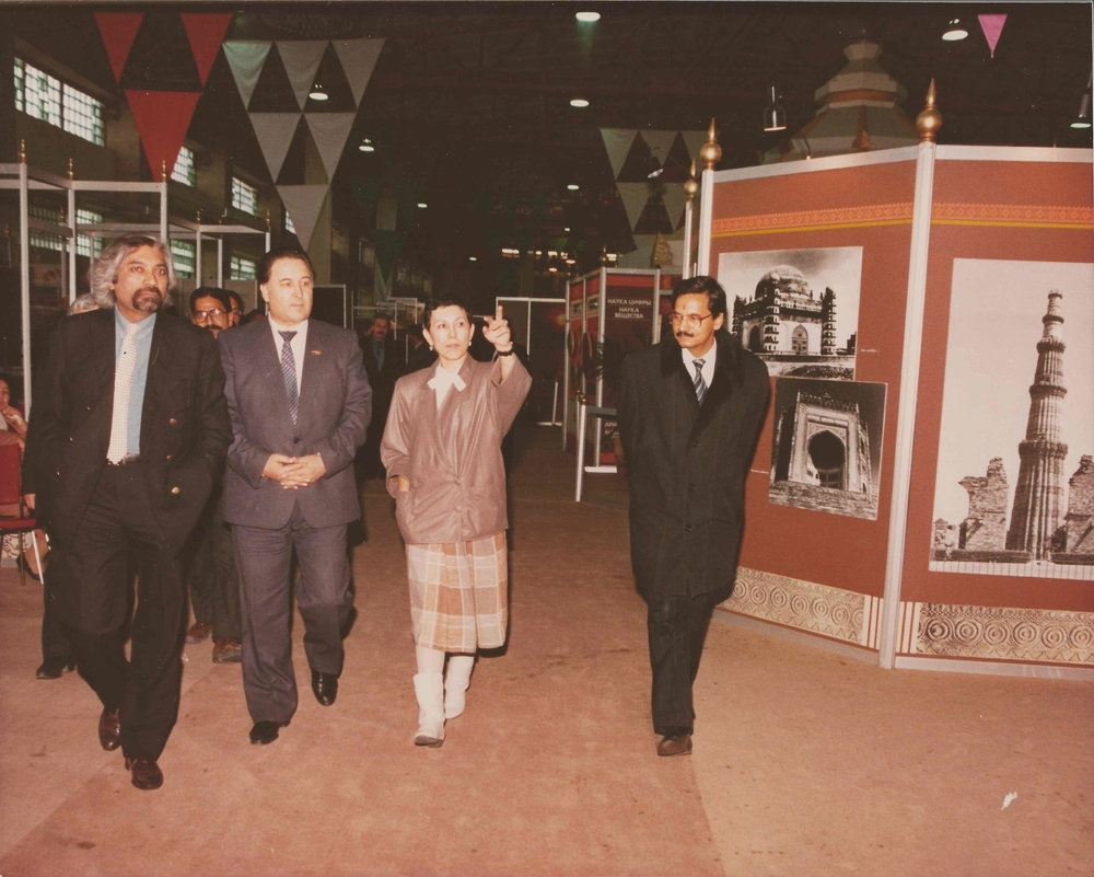 S&T exhibition at the Festival of India, Soviet Union