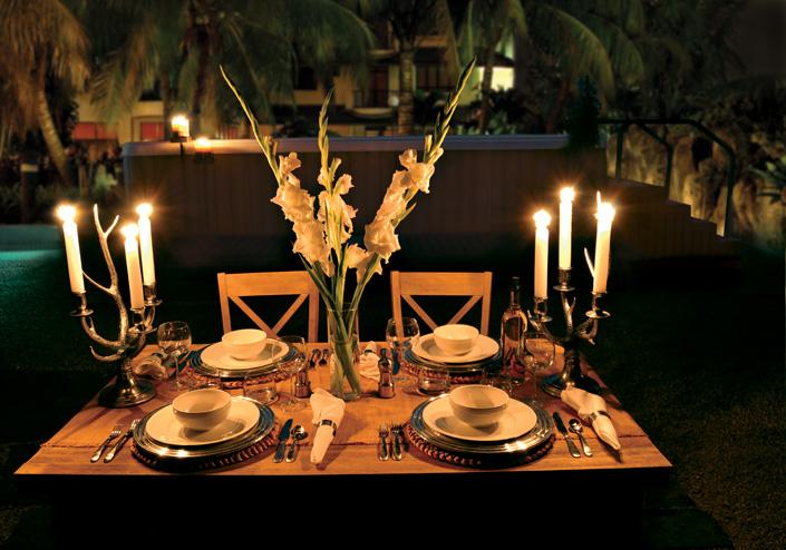 Backyard Lighting — The Backyard Room