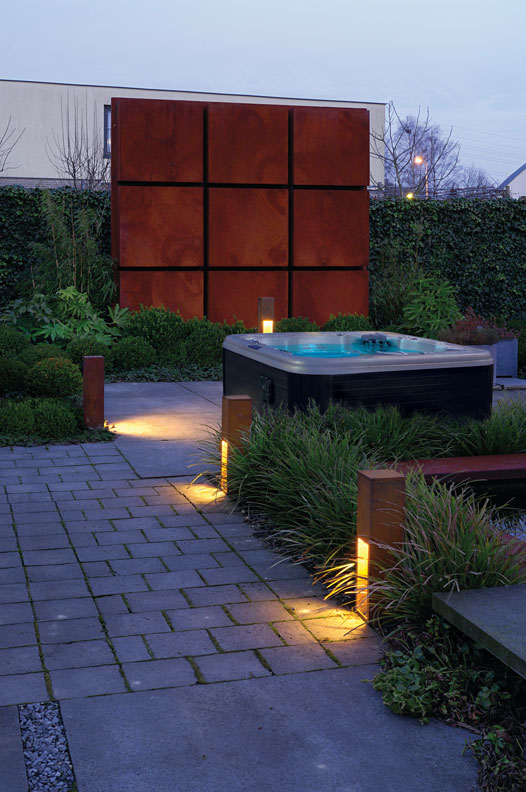Trends In Backyard Design The Backyard Room - Backyard privacy screen