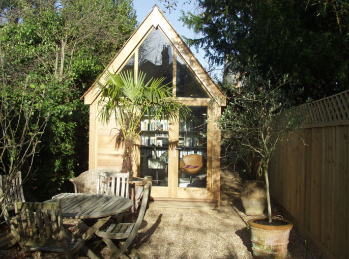 small outdoor office. the garden house office is a great solution for small spaces this design by outdoor y