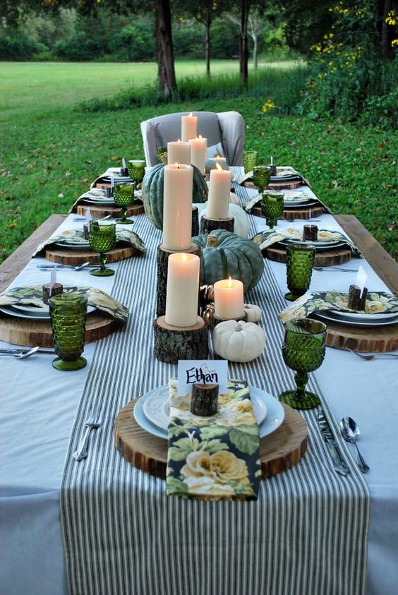 For more tablescape ideas check out AE Outdoor.