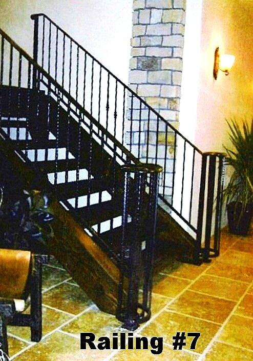 wine room railing