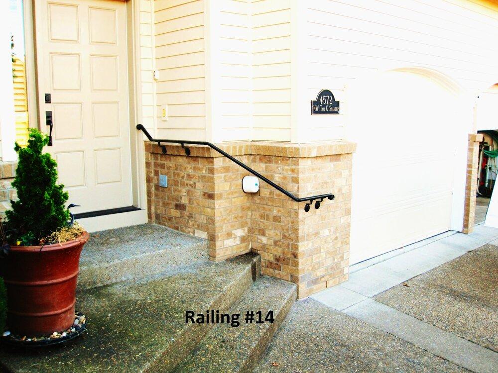 wall mount hand rail
