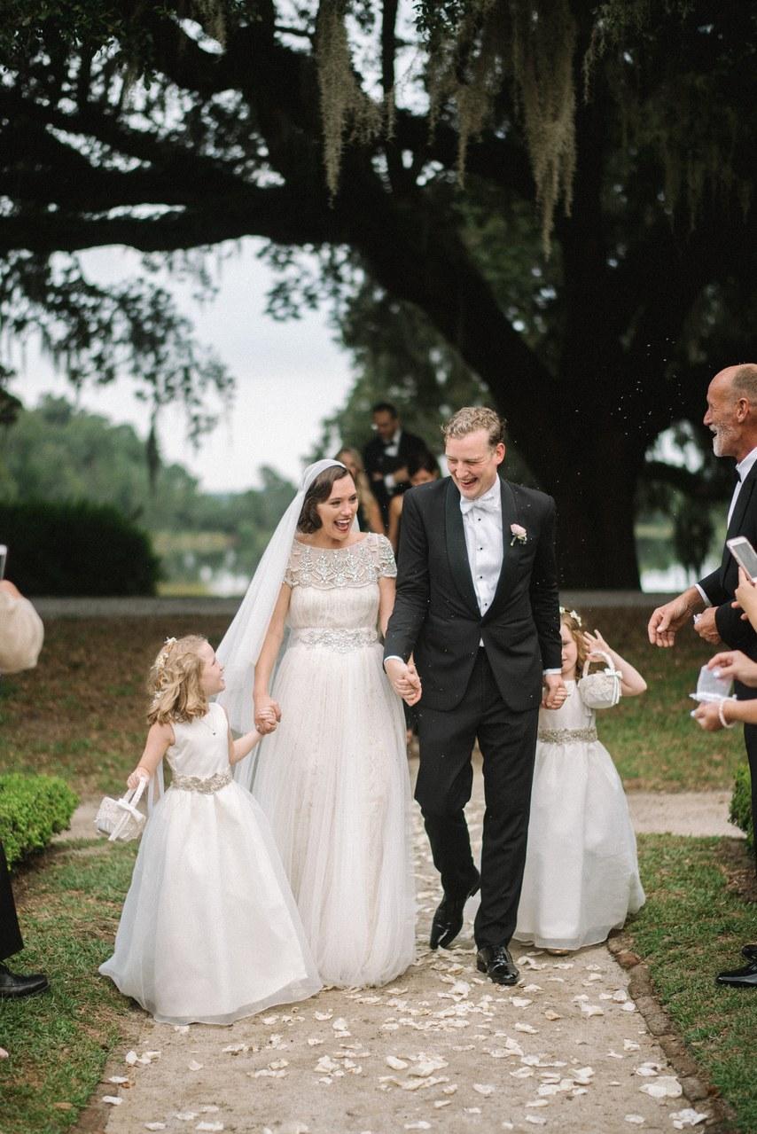 J + M on Brides