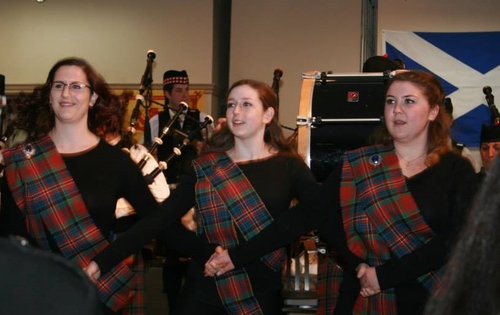 Dancers - Robbie Burns Dinner