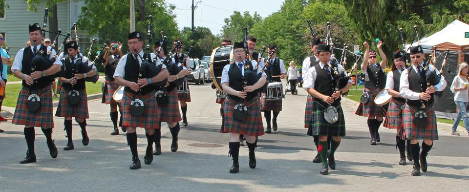 Grade 5 Competition Band at the Kincardine Highland Games. July 2015