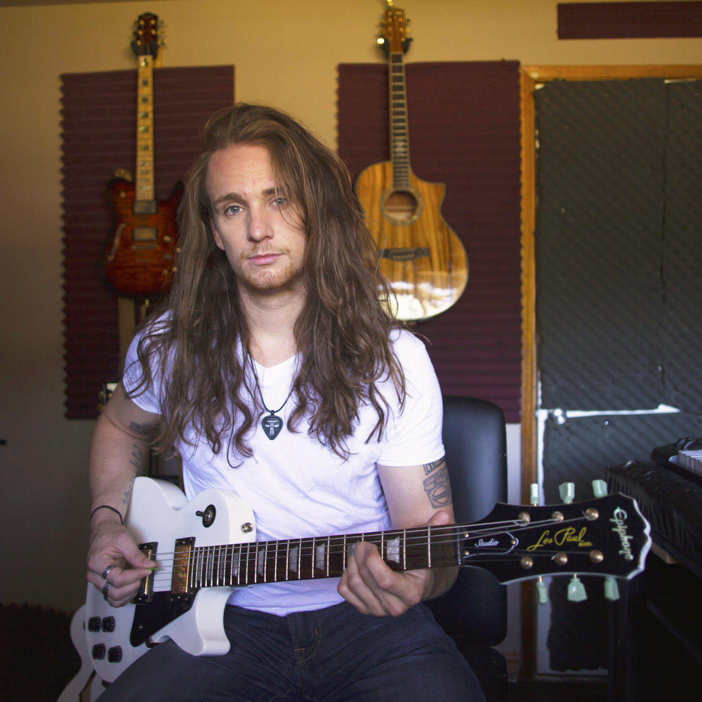 Josh Kain Guitar Electric Acoustic Rock Metal Federal Way School of Music Instructor Bio Lessons