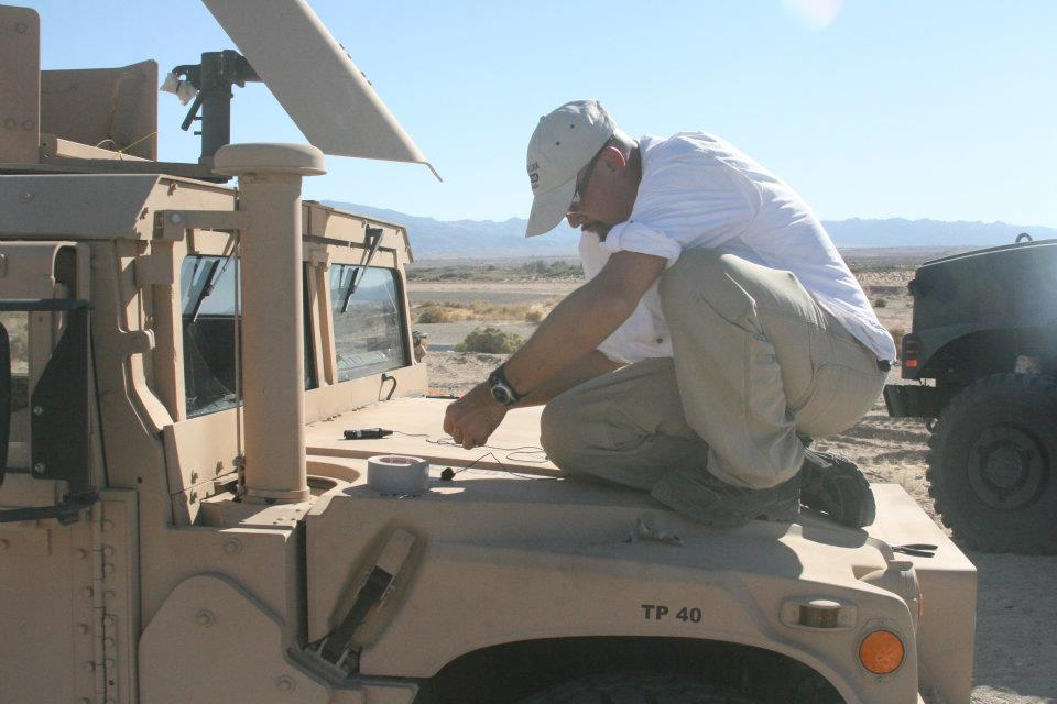 Watson & Humvee on Marine base.jpg