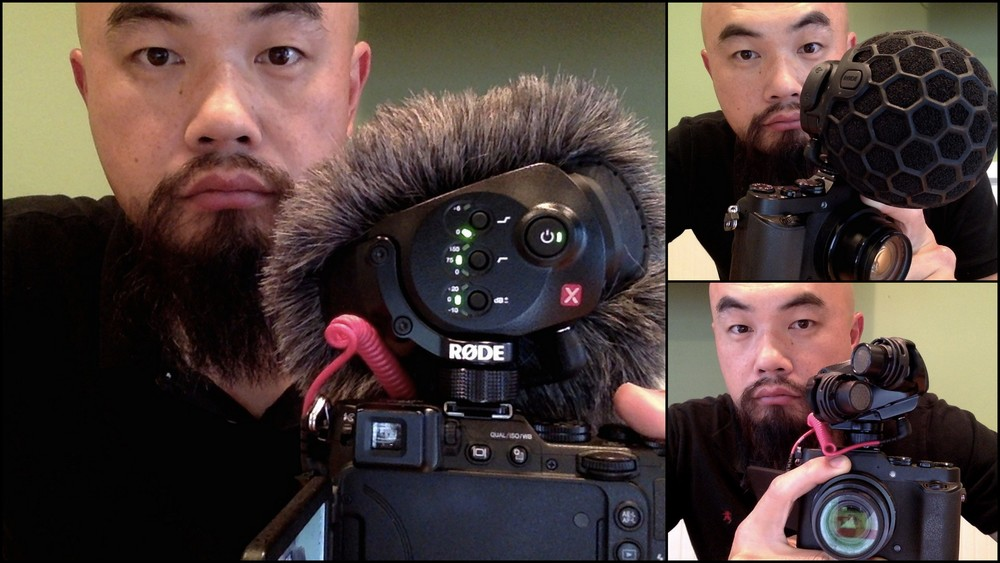 Watson Wu and The New  RØDE  SVM X stereo microphone!