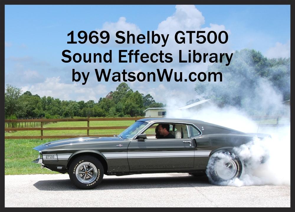 Watson Wu - 1969 Ford Mustang - Shelby GT500 muscle car.jpg