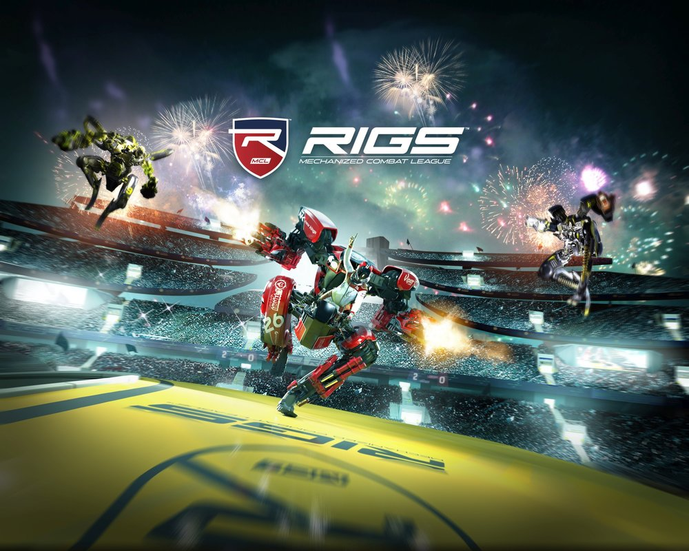 RIGS, a PS4 VR Game we worked on is in stores Today! Go out and BUY A COPY!!