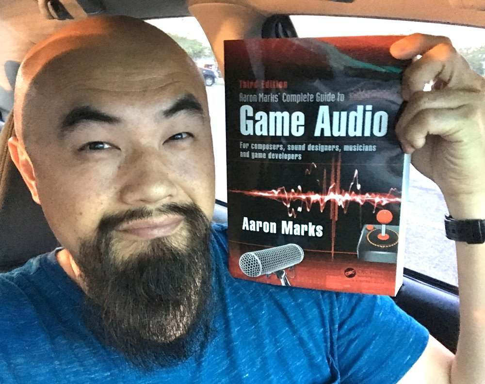 Happy to receive my copy of The Complete Guide to Game Audio, 3rd edition by Aaron Marks