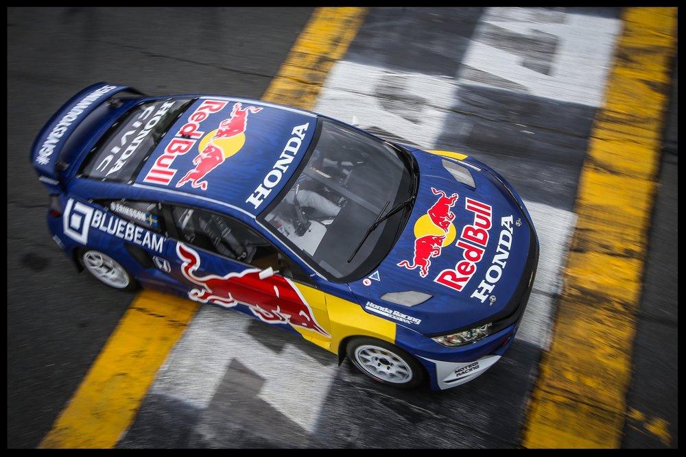 HONDA CIVIC RALLYCROSS RACE CAR