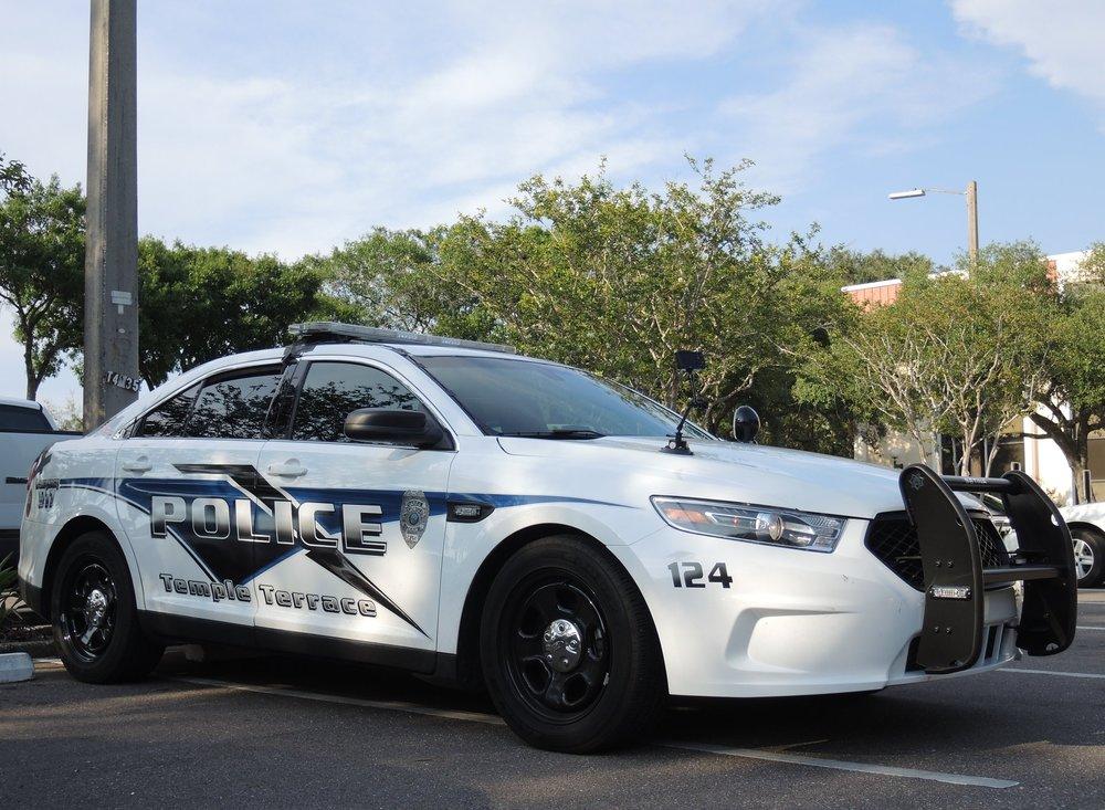 Ford Taurus Police Intercepter Car