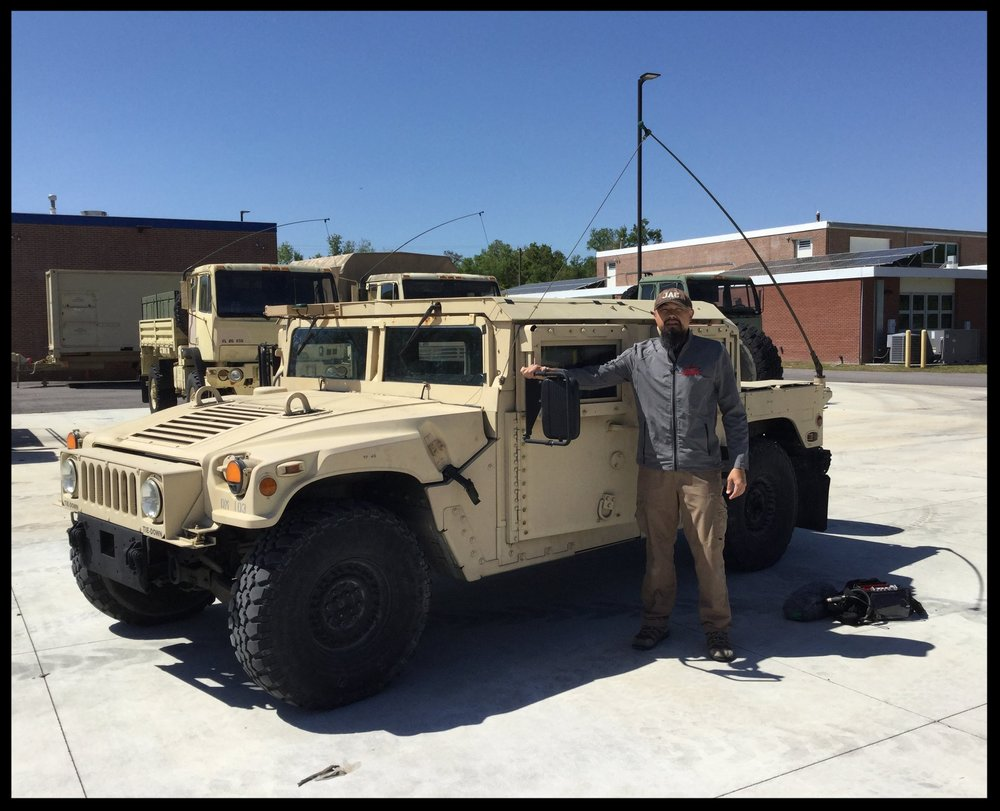 Armored Military Humvee Vehicle