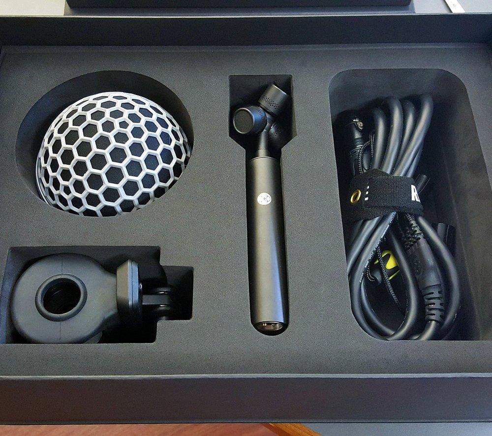IMG_2251 New Rode NT-SF1 ambisonic microphone.JPG