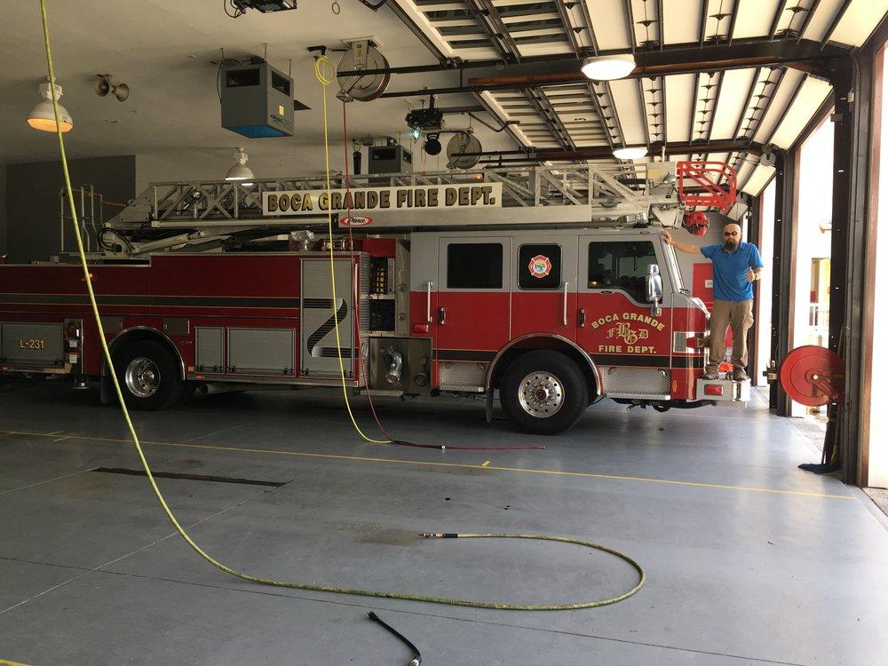 IMG_2330 Fire truck & Watson.JPG