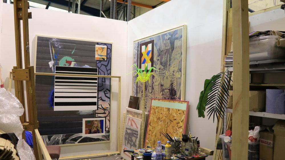Ian Gonczarow's studio (3x5m)