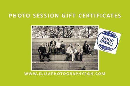 e.liza photography :: gift certificates :: www.elizaphotographypgh.com