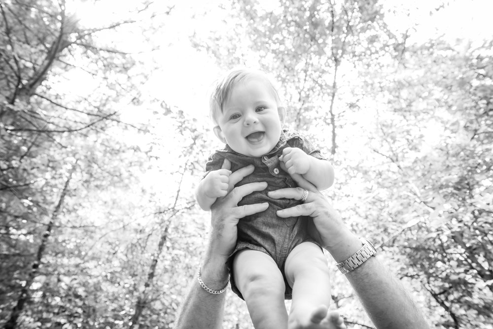"""I love Beth! She gets in a zone and works so well with my kids and our family. I have tried out many different photographers and finally found one that does a great job and captures so many sweet moments. i also like her style of pictures and absolutely love using the outdoors as our backdrop rather than a stuffy dark studio."""