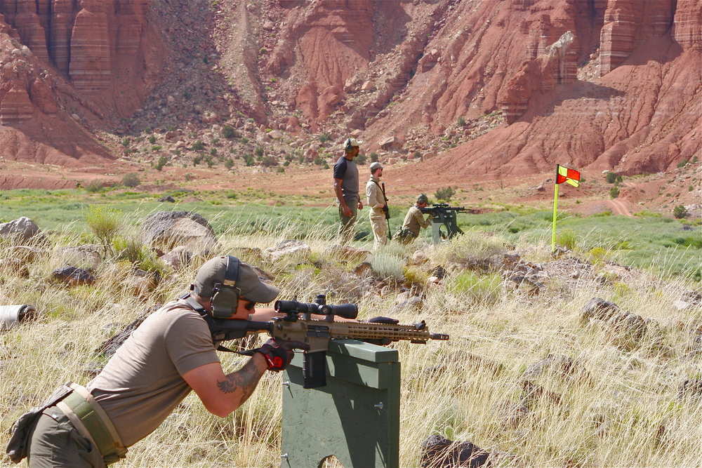 Firearms Training & Instruction: Scoped Carbine Course, Utah, Rifle, AR