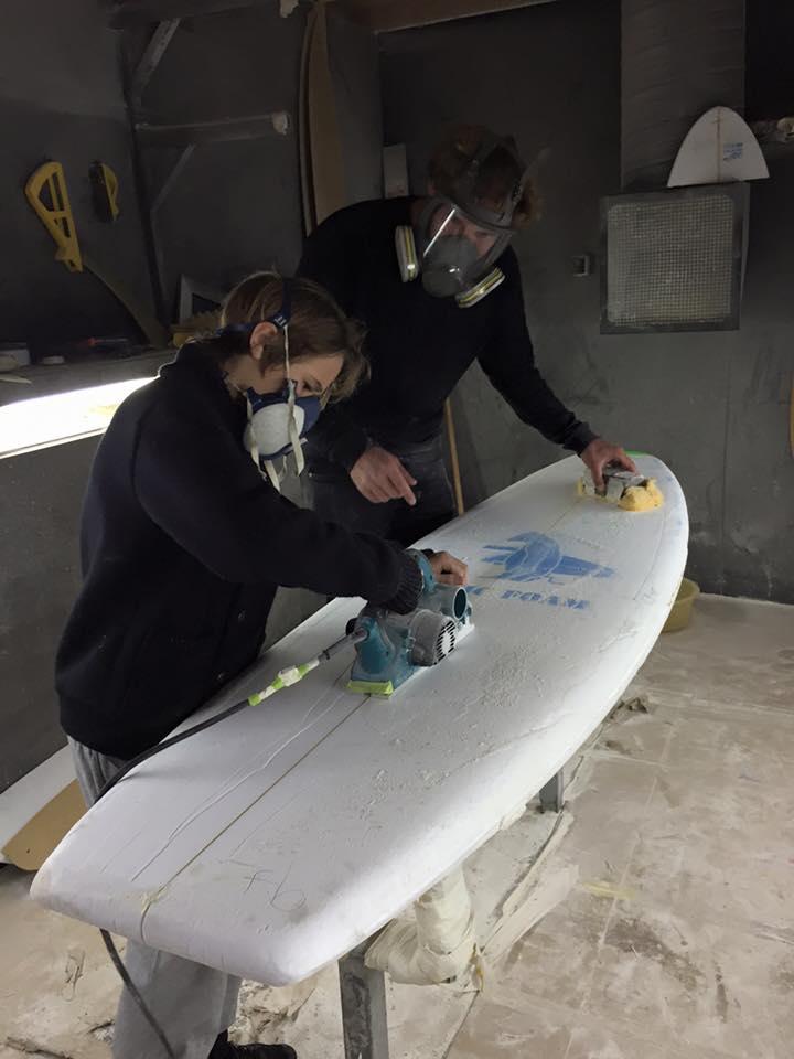 blanksurfshack atelier de shape associatif biarritz