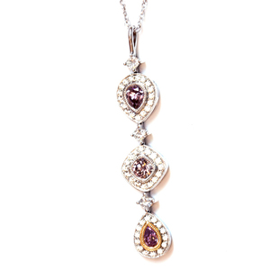 Necklaces and pendants natural color diamond wholesale vj010pink diamond pendantg aloadofball Gallery