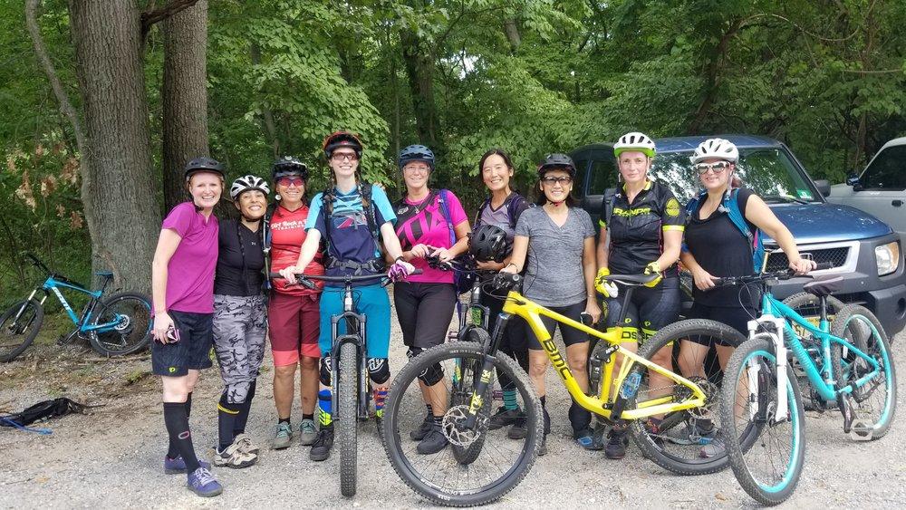 2018 CLIMB intermediate women's Clinic at Meadowlark