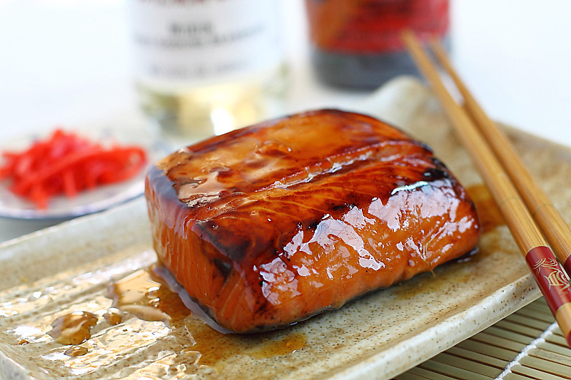 Salmon Teriyaki...