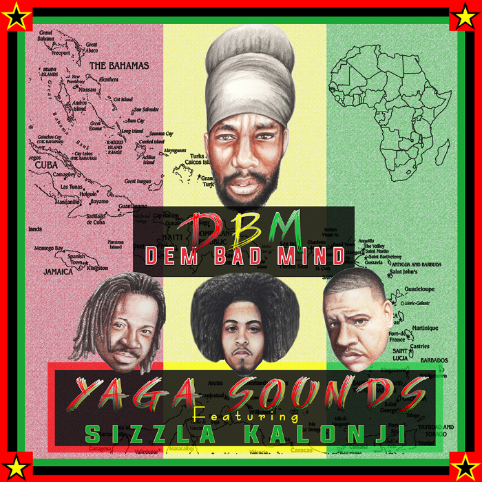 DBM Featuring Sizzla Kalonji will be available for purchase on 10/07/14. Artwork done be  Mr. Myron Potier.