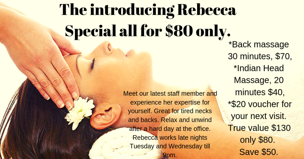 The Introducing Rebecca Special.