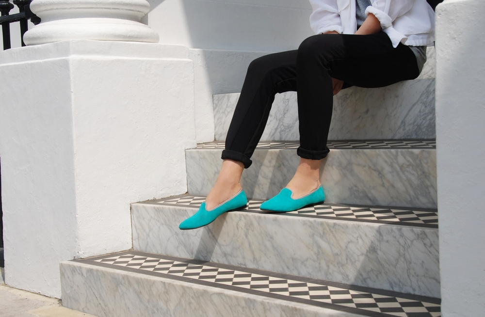 Duke & Dexter: Tantalising Turquoise | Shoes,Shoes > Loafers -  Hiphunters Shop