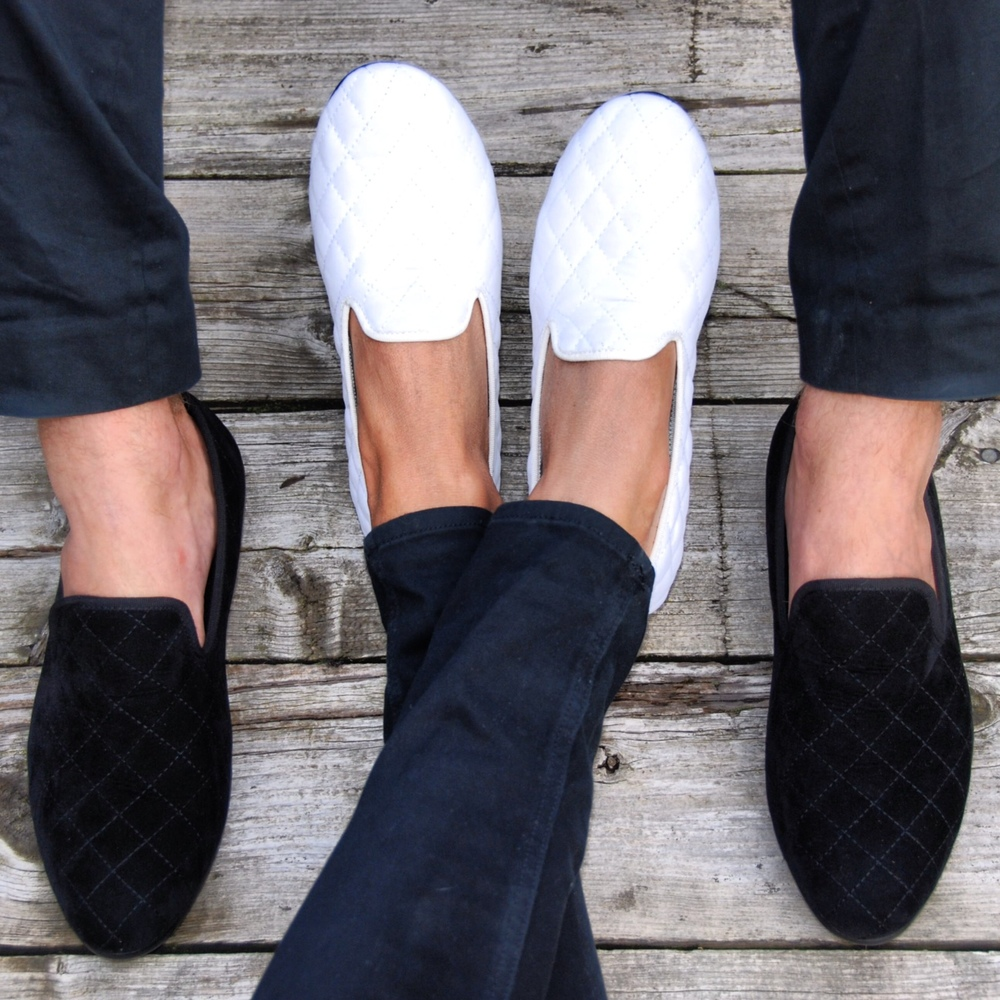 Duke & Dexter: Quilted Black | Shoes,Shoes > Loafers -  Hiphunters Shop