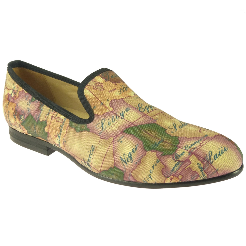 Duke & Dexter: World Map | Shoes,Shoes > Loafers -  Hiphunters Shop
