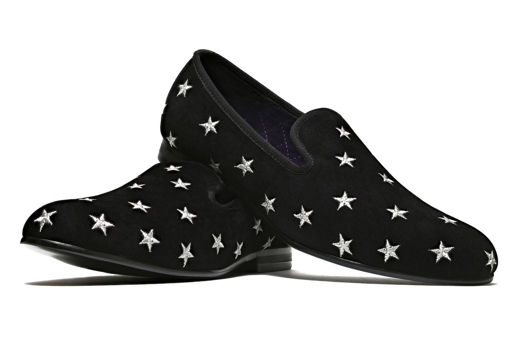 Duke & Dexter: Starred Black   Shoes,Shoes > Loafers -  Hiphunters Shop