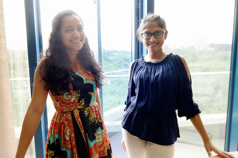Karuna Rana and Meghna Raghoobar of SYAH