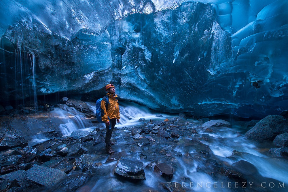 Mendenhall Glacier Ice Cave, Juneau