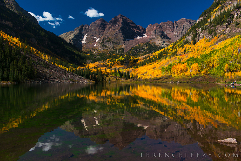Maroon Bells after sunrise. Yay or Nay?