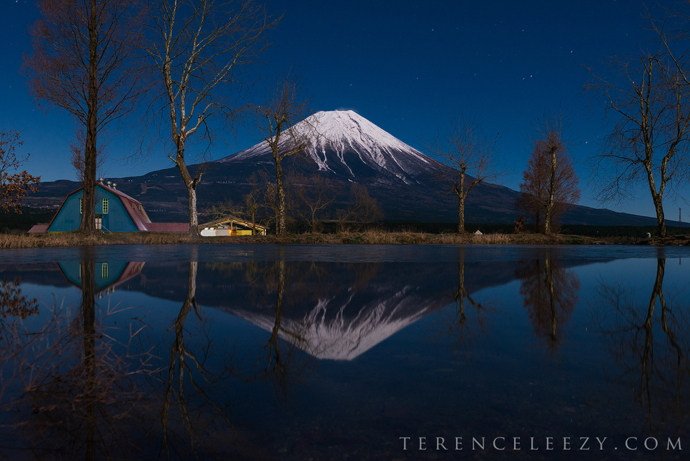 December -Mount Fuji, Japan