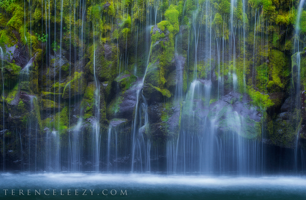 June - Mossbrae Falls, California.