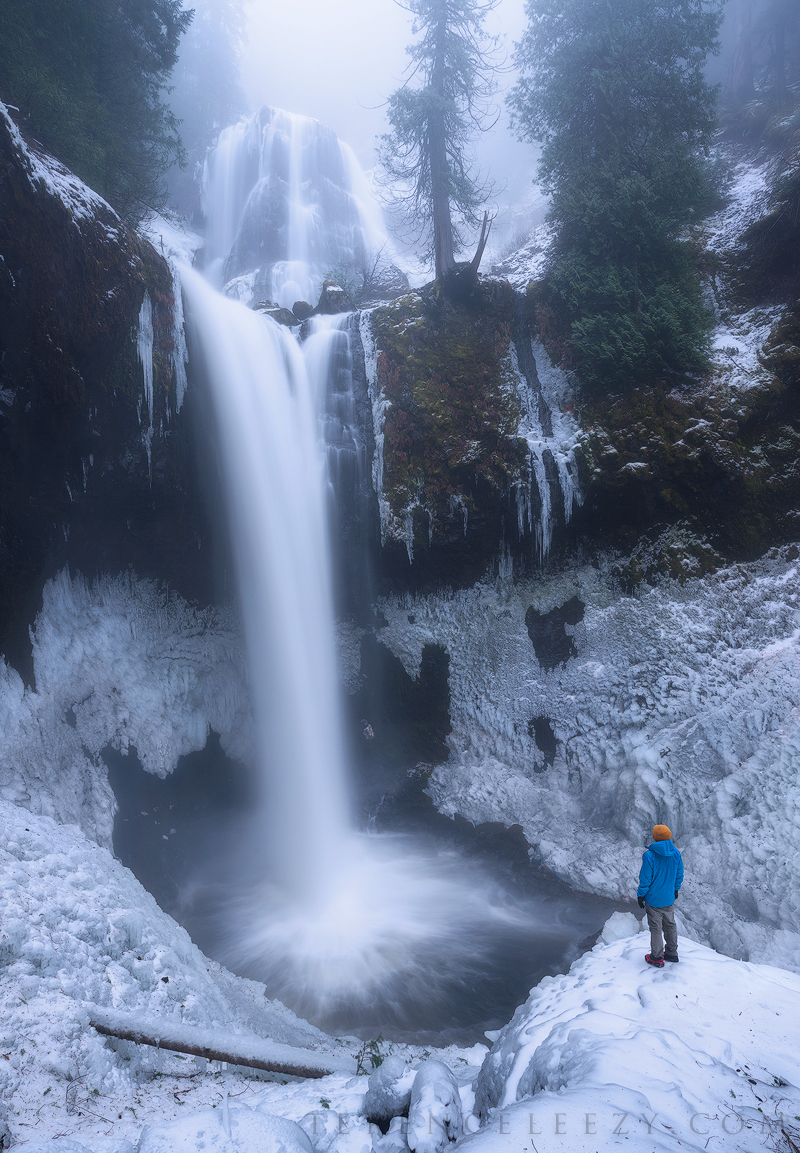 December - Falls Creek Falls, Oregon