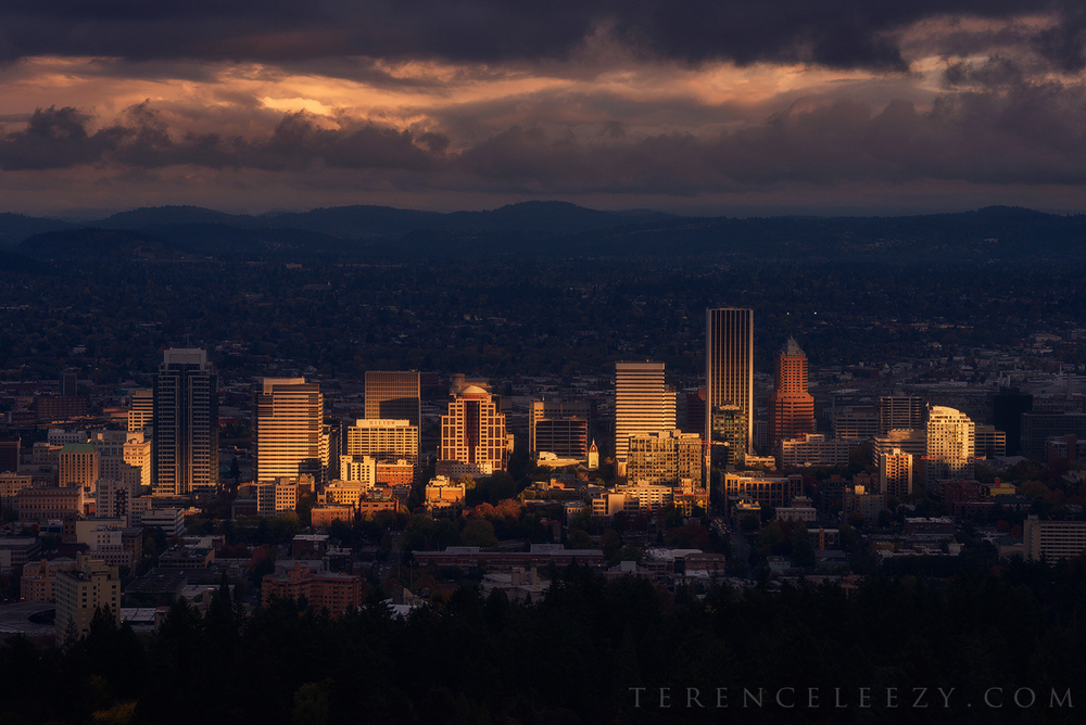 October - Pittock Mansion, Portland, Oregon