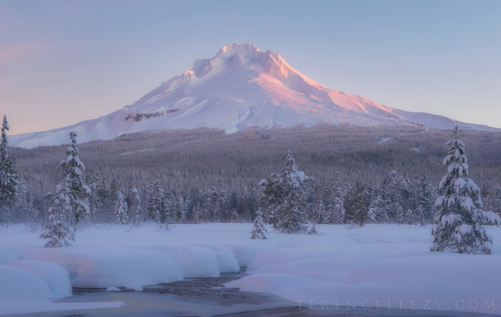 December - Mount Hood, Oregon