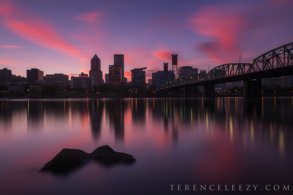 24mm f/11 3mins iso 200 . Portland, Oregon.